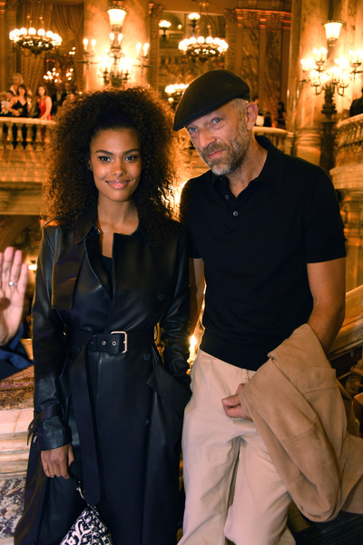 Tina Kunakey And Vincent Cassel