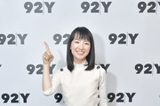 Author and series host  Marie Kondo poses before taking part in Netflix's