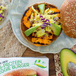 Make Veggie Burgers With Almond Butter Turmeric Slaw