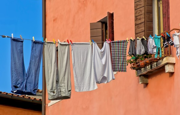 Offer To Fold Laundry