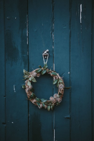 A Homemade Wreath