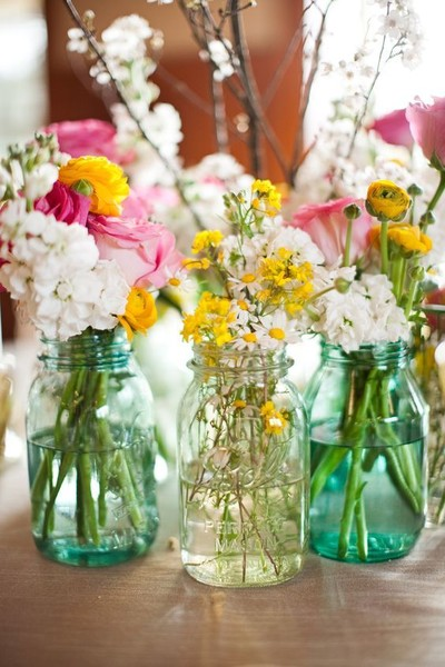 Ask guests to bring flowers