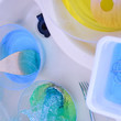 Try Colored Water Mixing