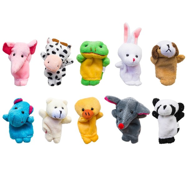 Explore With Finger Puppets