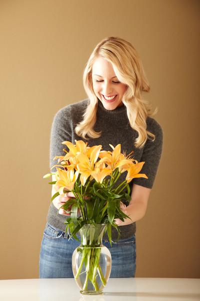 Add fresh flowers to your home
