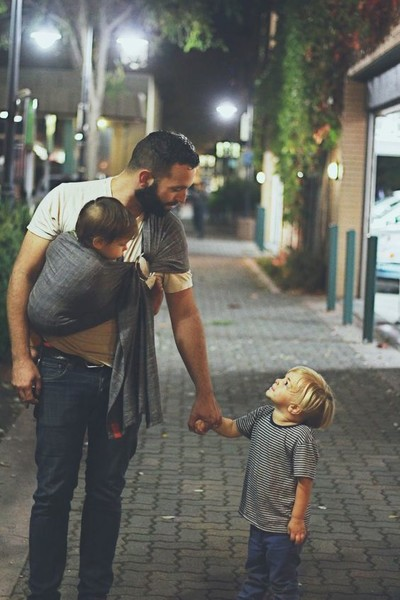 Dads Love Wearing Babies, Too