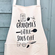 """Grandma's Little Sous Chef"" Apron"
