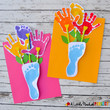 Handprint And Footprint Bouquet